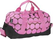 Big Dots - Pink Duffel Bag