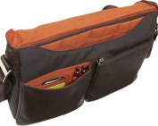 Kobe Soft Leather Laptop Messenger