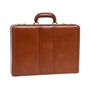 McKlien 80434 Daley 80434- Brown Leather Attache Case