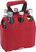 Six Pack Neoprene Tote (Red)