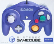 The Nintendo GameCube controller violet peripheral device (pure a maker) software / others, game