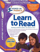 Hooked on Phonics Learn to Read Kindergarten, Levels 3 & 4 [With Book(s) and Sticker(s) and 2 Workbooks and DVD and Quick Start Guide]
