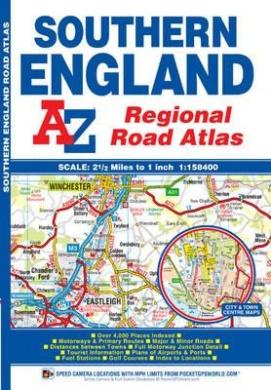 Southern England Regional Road Atlas (A-Z Regional Road Atlas)