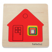 wooden layer puzzle - Cottage