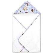 Trend Lab 21049 Bouquet Set - Cowboy Baby -Hooded Towel & Wash Cloth