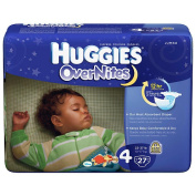 Huggies Overnites Nappies - 27 Ct - Step 4