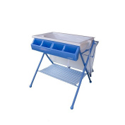 Baby Diego Bathinette Baby Bath & Changing Table Combo - Blue