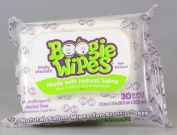 Boogie Wipes Gentle Saline Wipes for Stuffy Noses 30 ea