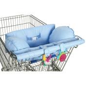 Leachco Prop 'R Shopper Body Fit Shopping Cart Cover - Blue Pin Dots