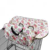 Pam Grace Creations GC-PAISLEY Grocery Cart-High Chair Cover-Pams Paisley