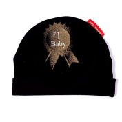 Silly Souls #1 Baby Beanie - Black
