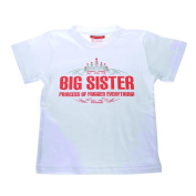 Silly Souls Big Sister T-Shirt - Princess of Friggen Everything - 2T