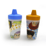 The First Years 2 Pack 270ml Insulated Sippy Cup, Toy Story