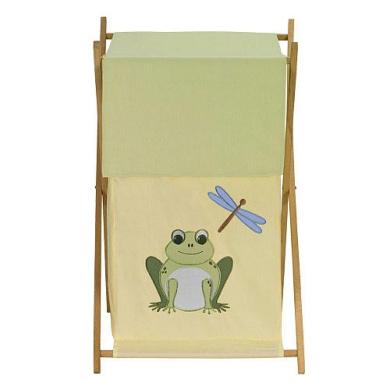 JoJo Designs Leap Frog Collection Laundry Hamper