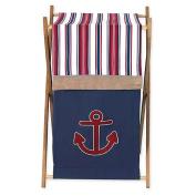 JoJo Designs Nautical Nights Collection Laundry Hamper