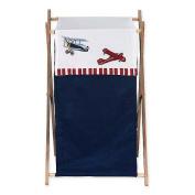 JoJo Designs Vintage Aviator Collection Laundry Hamper