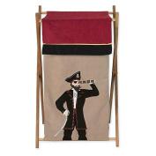 JoJo Designs Pirate Treasure Cove Collection Laundry Hamper