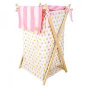 Trend Lab Dr. Seuss Oh! The Places You'll Go! Collapsible Hamper Set - Pink