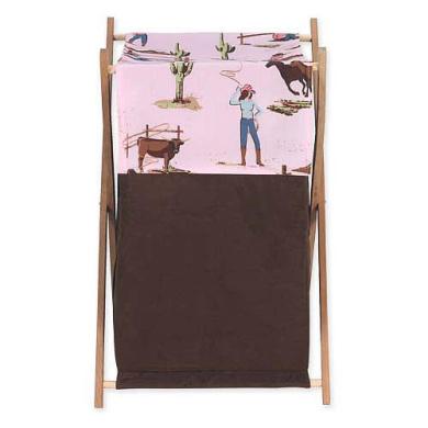 JoJo Designs Cowgirl Collection Laundry Hamper
