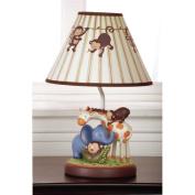 Kids Line Jungle 1-2-3 Lamp Base & Shade
