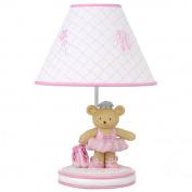 Kids Line Twirling Around Lamp Base and Shade