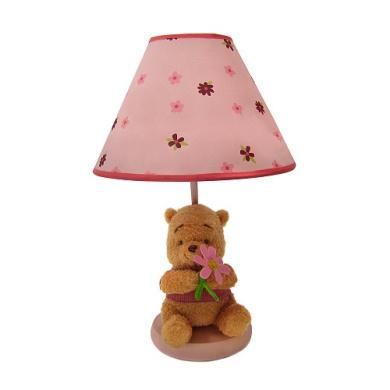 Disney Delightful Day Lamp With Plush Base & Shade