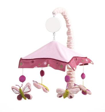 Raspberry Swirl Musical Mobile