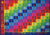 LA Rug FT-142 0811 Fun Time Collection - Addition Rug - 2.44m x 3.35m