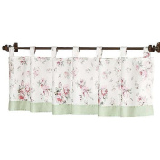 JoJo Designs Riley's Roses Collection Window Valance