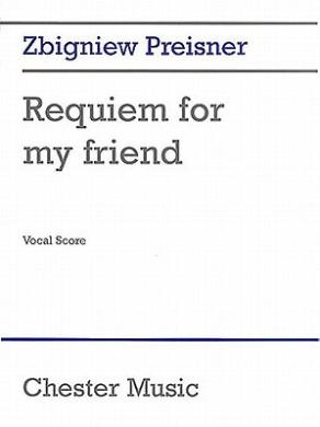 Preisner: Requiem for My Friend (Vocal Score)