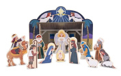 Wooden Nativity Set, US and Some Other Countries Market