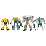 Transformers Dark of the Moon Cyberverse Action Figures - Bumblebee and Starscream