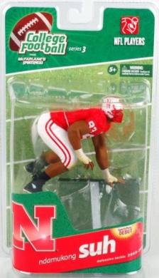 NFL Players College Football Series 3 Nebraska Cornhuskers 15cm Action Figure - Ndamukong Suh