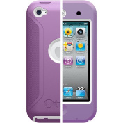 OtterBox Defender Series Hybrid Case for iPod Touch 4G - Purple/White