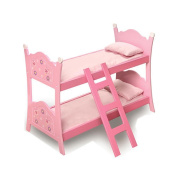 Blossoms and Butterflies Baby Doll Bunk Bed
