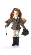 Paradise Horses English Girl Rider Doll, Millicent