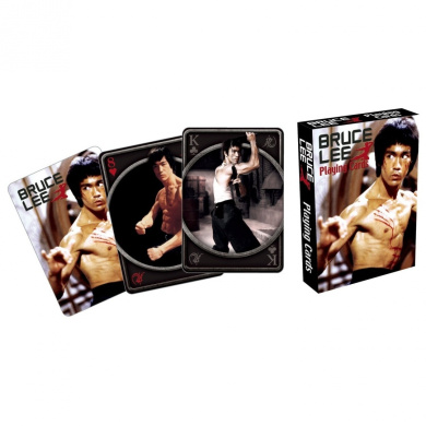 Bruce Lee Fight Playing Cards
