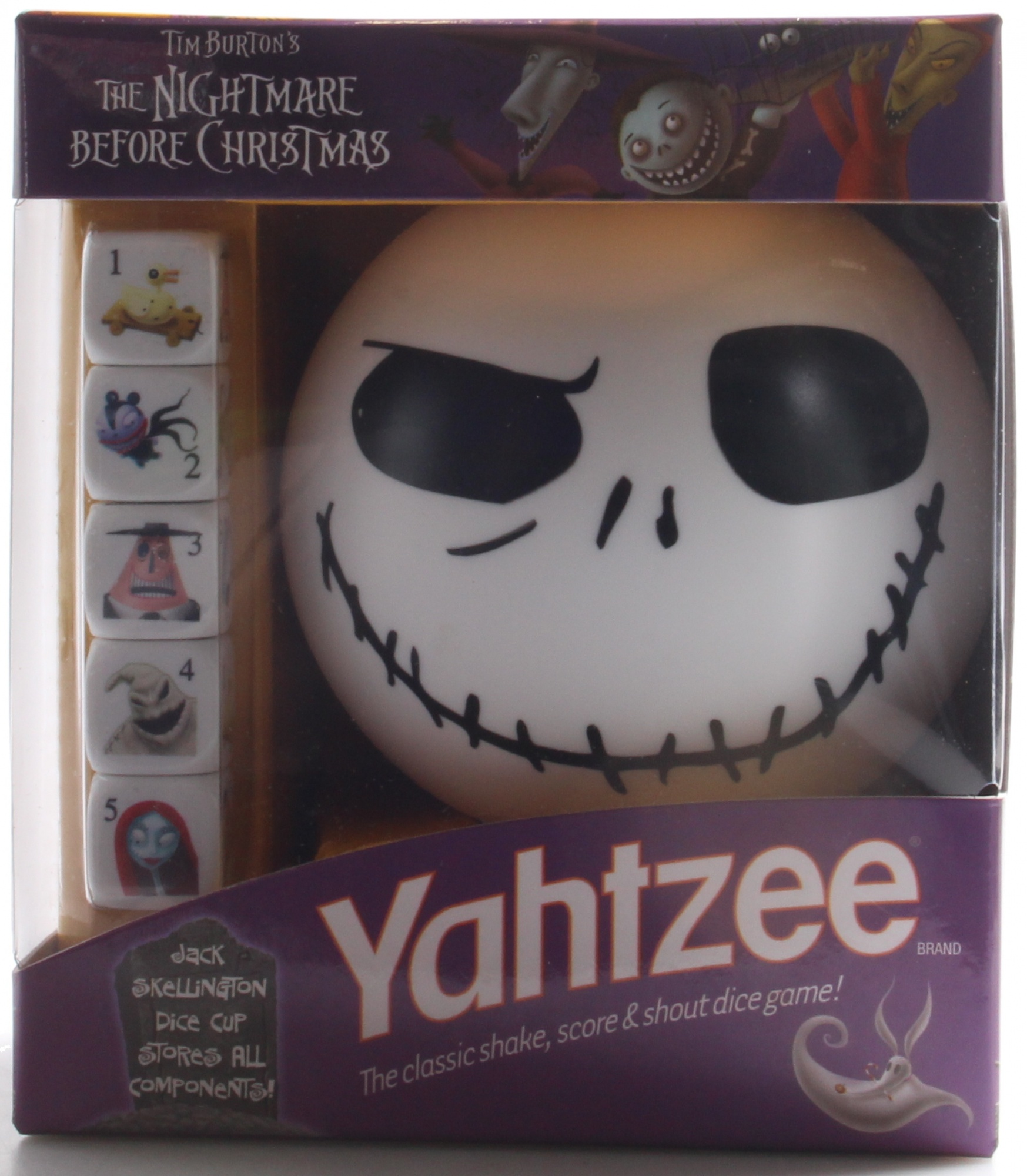 Yahtzee - Nightmare Before Christmas Edition by USAopoly - Shop ...