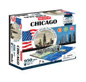 4D Skyline Time Puzzle - Chicago