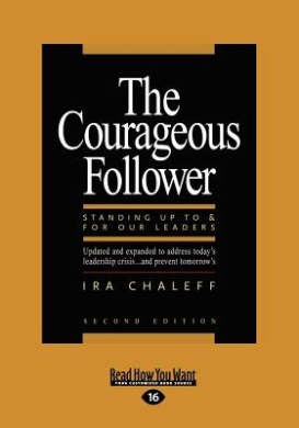 The Courageous Follower (Large Print 16pt)