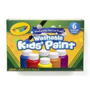 . 6 Washable Kids Paint