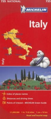 Michelin Italy Map 735 (Maps/Country (Michelin))