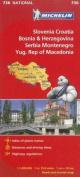 Michelin Slovenia, Croatia, Bosina & Herzegovina, Serbia, Montenegro, Yugoslavic Republic of Macedonia