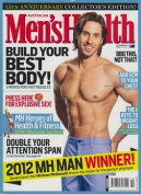 Men's Health - 1 year subscription - 12 issues