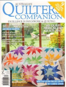 Quilters Companion - 1 year subscription - 7 issues