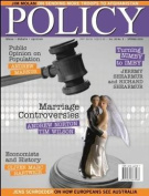 POLICY - 1 year subscription - 4 issues