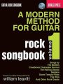 A Modern Method for Guitar Rock Songbook, Volume 1 [With CD (Audio)]