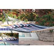 Santorini Premium Reversible Poly-cotton Hammock