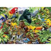 Animal Planet Jungle Friends Discover & Learn 200 Piece Puzzle