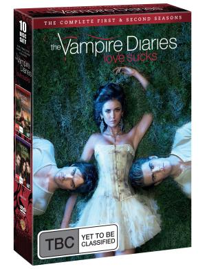 Vampire Diaries - Seasons 1-2 (10 Disc Box Set)